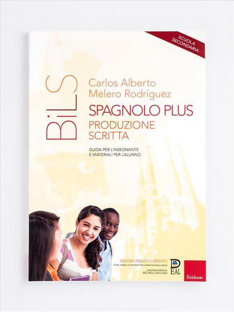 Spagnolo Plus - Produzione scritta - didattica metacognitiva - Erickson