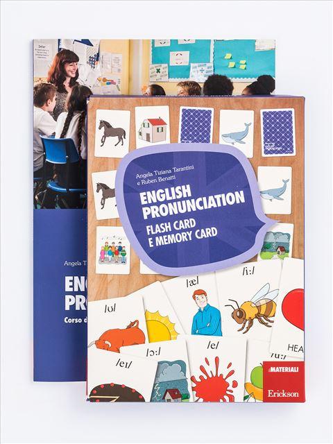 English pronunciation - Libri di didattica, psicologia, temi sociali e narrativa - Erickson