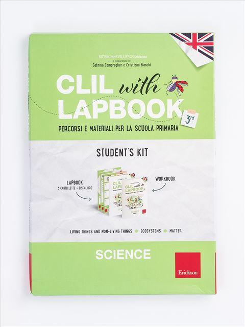 CLIL with LAPBOOK - SCIENCE - Classe terza - Libri - Erickson 3
