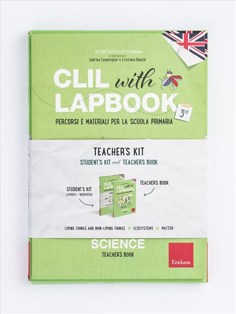 CLIL with LAPBOOK - SCIENCE - Classe terza - Scienze - Erickson