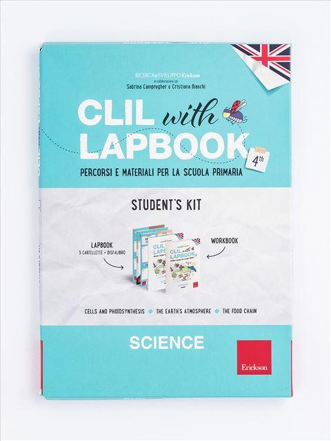 CLIL with LAPBOOK - SCIENCE - Classe quarta - Libri - Erickson 3