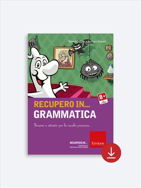 RECUPERO IN... Grammatica - App e software per Scuola, Autismo, Dislessia e DSA - Erickson 2