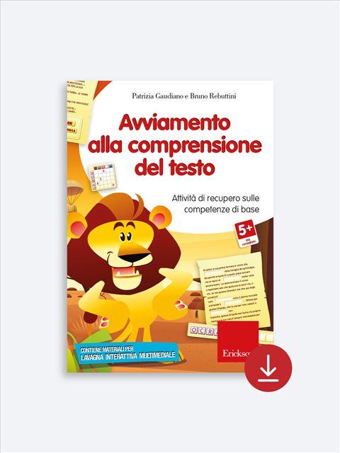 Avviamento alla comprensione del testo - App e software per Scuola, Autismo, Dislessia e DSA - Erickson 2