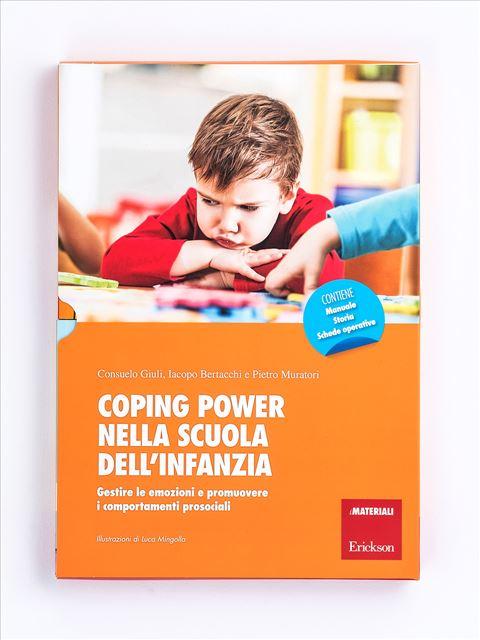 Coping power nella scuola dell'infanzia - Narrativa per Ragazzi e Bambini - Erickson