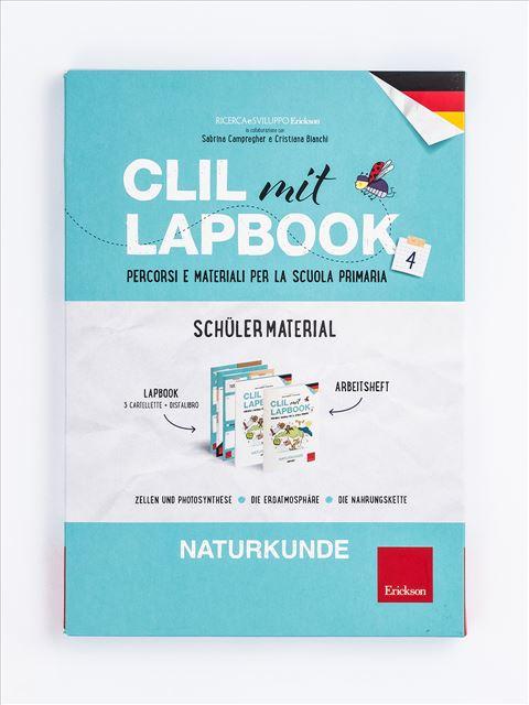 CLIL mit LAPBOOK - Naturkunde - Classe quarta - Libri - Erickson 3