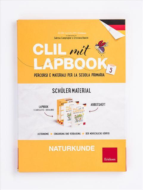 CLIL mit LAPBOOK - Naturkunde - Classe quinta - Libri - Erickson 3