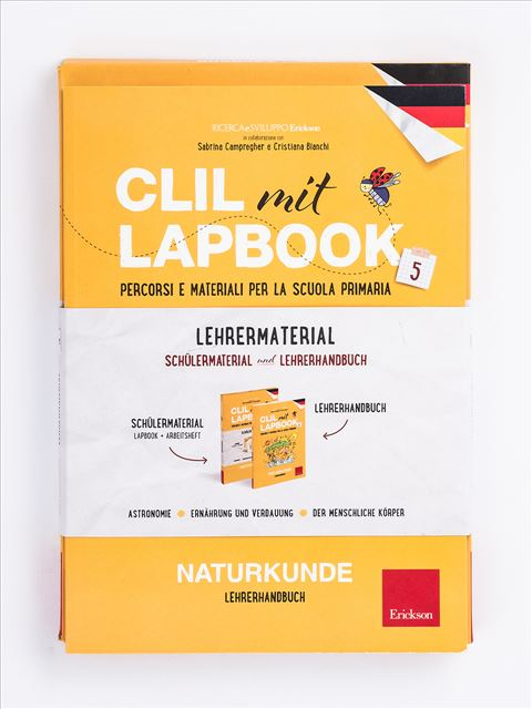 CLIL mit LAPBOOK - Naturkunde - Classe quinta - Scienze - Erickson