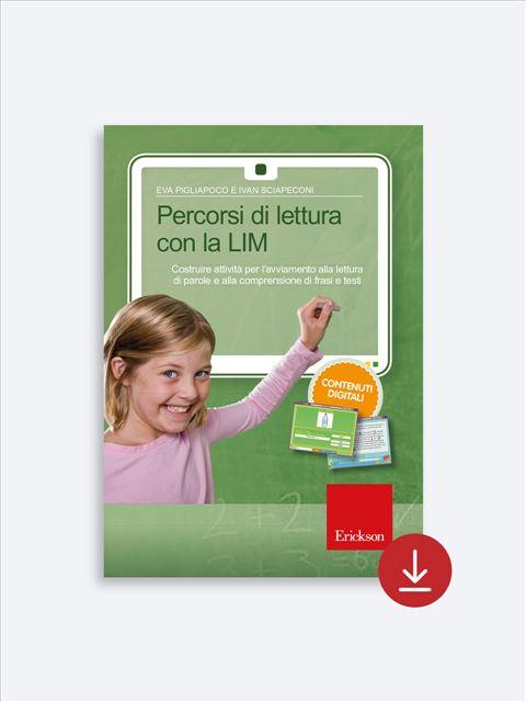 Percorsi di lettura con la LIM - App e software per Scuola, Autismo, Dislessia e DSA - Erickson 2