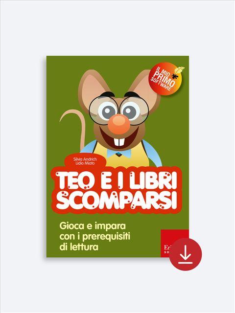 Teo e i libri scomparsi - App e software per Scuola, Autismo, Dislessia e DSA - Erickson 2
