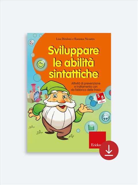 Sviluppare le abilità sintattiche - App e software per Scuola, Autismo, Dislessia e DSA - Erickson 2