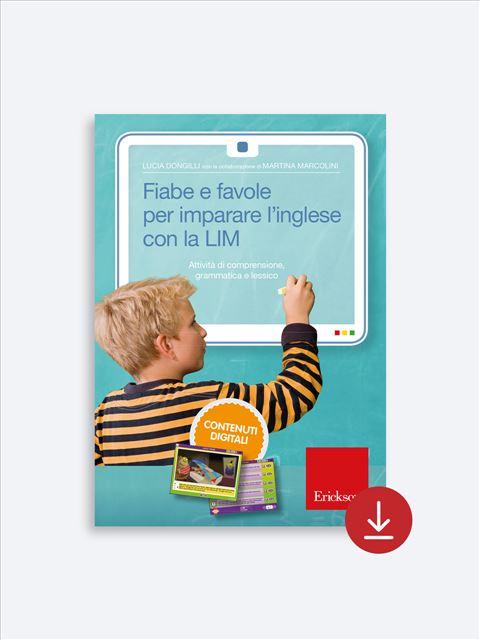 Fiabe e favole per imparare l'inglese con la LIM - App e software per Scuola, Autismo, Dislessia e DSA - Erickson 2