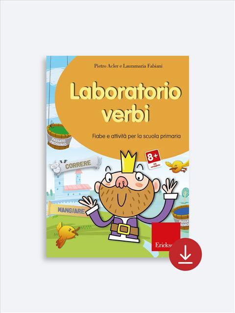 Laboratorio verbi - App e software per Scuola, Autismo, Dislessia e DSA - Erickson 2