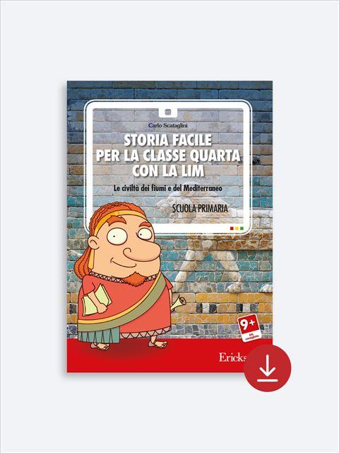 Storia facile per la classe quarta - Geografia facile per la classe quarta - Libri - Erickson 3