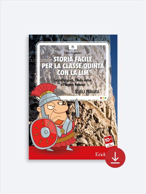 Storia facile per la classe quinta - Geografia facile per la classe terza - Libri - Erickson 3