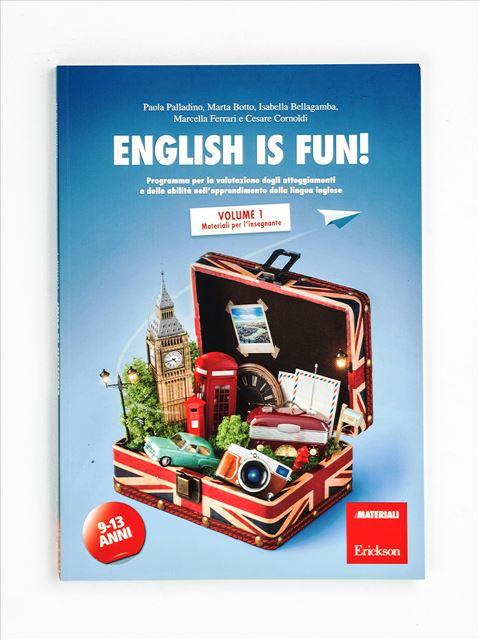 English is fun! Volume 1 - Lingue straniere - Erickson