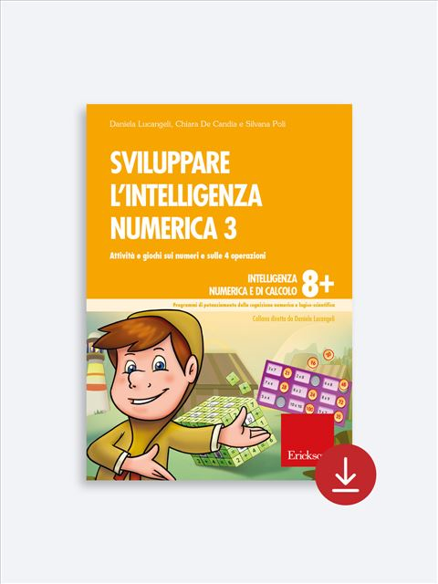 Sviluppare l'intelligenza numerica 3 - Procedure di calcolo orale - Erickson 2