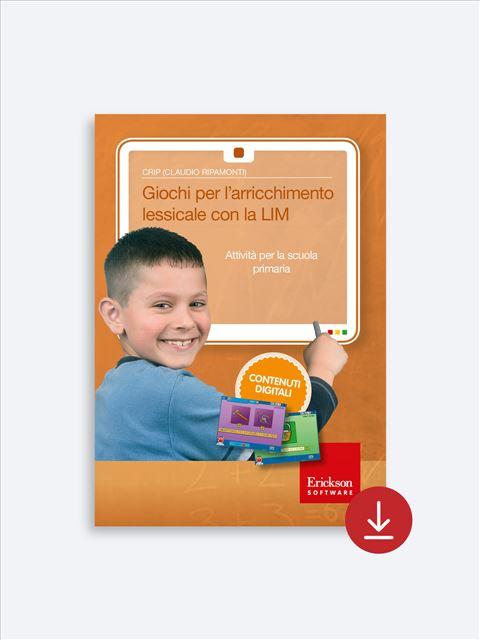 Giochi per l'arricchimento lessicale con la LIM - App e software per Scuola, Autismo, Dislessia e DSA - Erickson 2