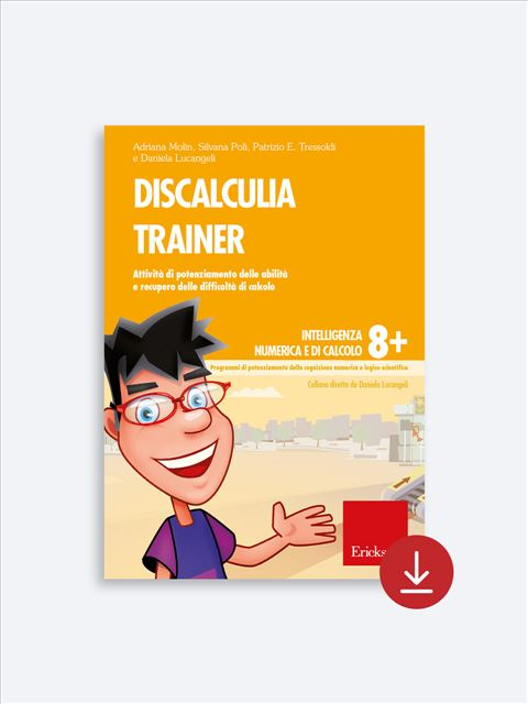 Discalculia trainer - Procedure di calcolo orale - Erickson 2