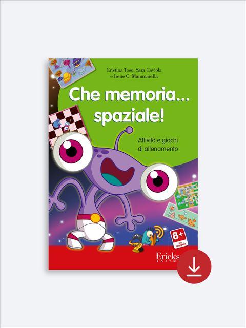 Che memoria… spaziale! - App e software per Scuola, Autismo, Dislessia e DSA - Erickson 2
