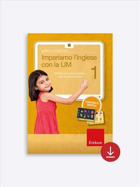 Impariamo l'inglese con la LIM 1 - Lingue straniere - Erickson 2