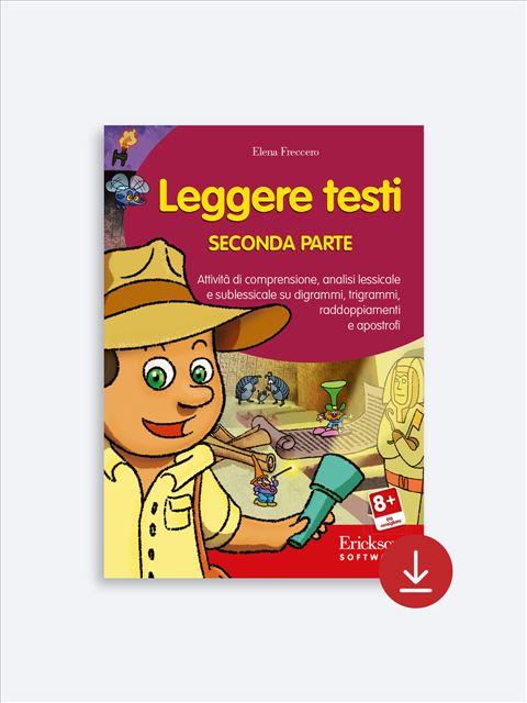 Leggere testi - Libri - App e software - Erickson 2