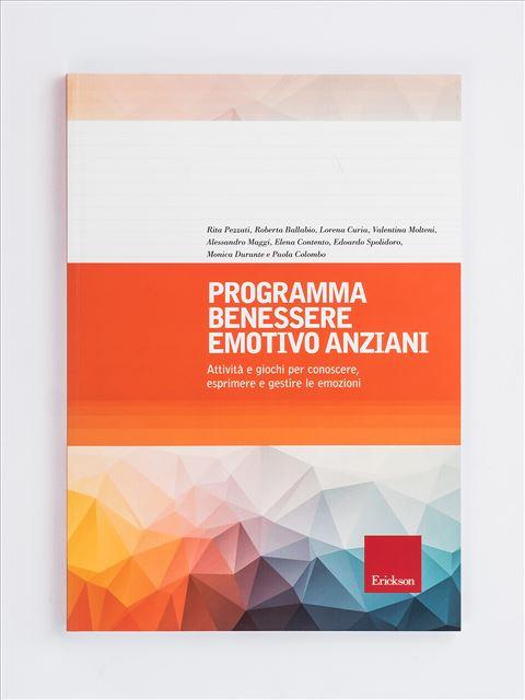 Programma benessere emotivo anziani - Fisioterapista - Erickson