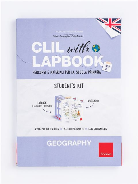 CLIL with LAPBOOK - GEOGRAPHY - Classe terza - Libri - Erickson 3