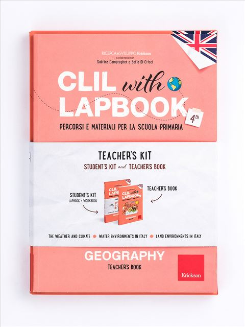 CLIL with LAPBOOK - GEOGRAPHY - Classe quarta - Lingue straniere - Erickson