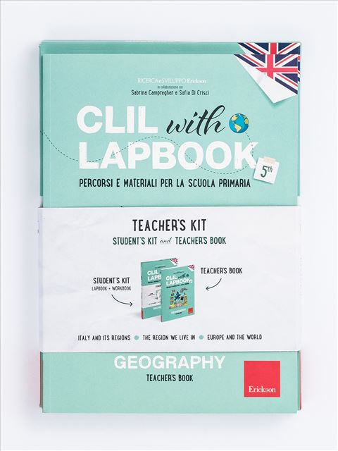 CLIL with LAPBOOK - GEOGRAPHY - Classe quinta - CLIL with LAPBOOK - GEOGRAPHY - Classe quarta - Libri - Erickson