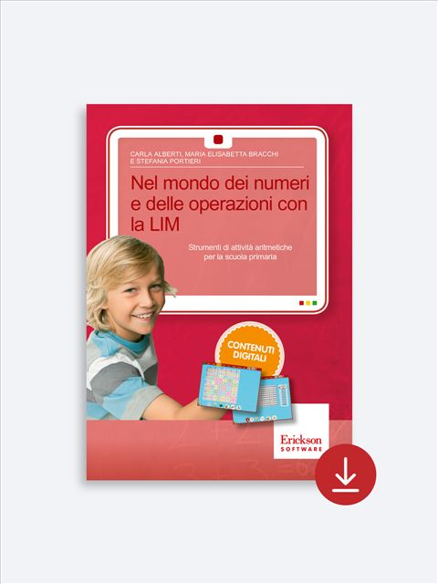 Nel mondo dei numeri e delle operazioni con la LIM - Lessico del numero - Erickson 2