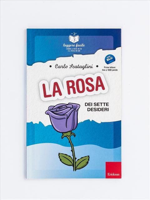 Leggere facile - La rosa dei sette desideri - Libri sulla Difficoltà di Linguaggio - Erickson