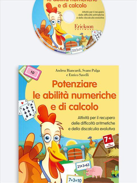Potenziare le abilità numeriche e di calcolo - Risolvere problemi aritmetici - Libri - App e software - Erickson
