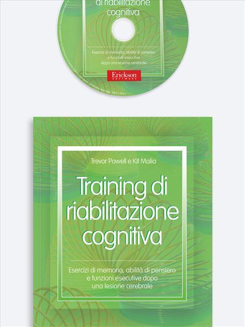 Training di riabilitazione cognitiva - Libri su Anziani con Alzheimer e demenze - Erickson
