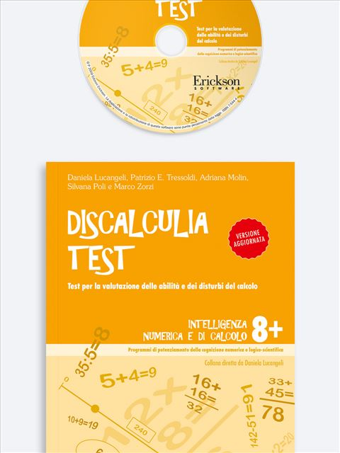 Discalculia test - Test diagnosi autismo, asperger, dislessia e altri DSA - Erickson
