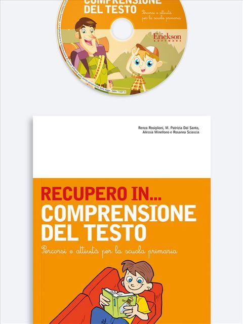 RECUPERO IN... Comprensione del testo - Percorsi clinici di logopedia - La comprensione de - Libri - Erickson 3