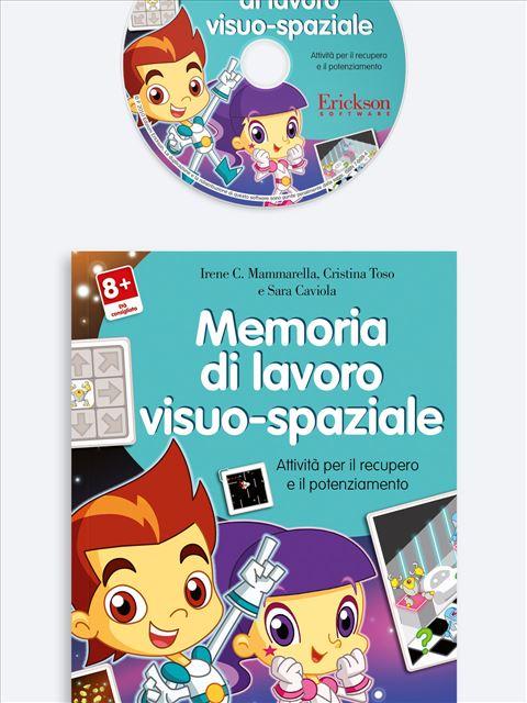 Memoria di lavoro visuo-spaziale - App e software per Scuola, Autismo, Dislessia e DSA - Erickson