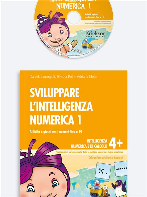 Sviluppare l'intelligenza numerica 1 - Procedure di calcolo orale - Erickson
