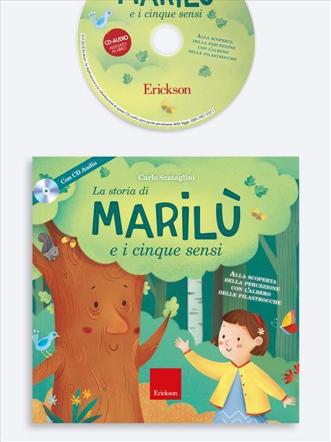 La storia di Marilù e i 5 sensi - Paura di sentire - Libri - Erickson