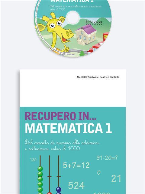 RECUPERO IN... Matematica 1 - App e software per Scuola, Autismo, Dislessia e DSA - Erickson 3