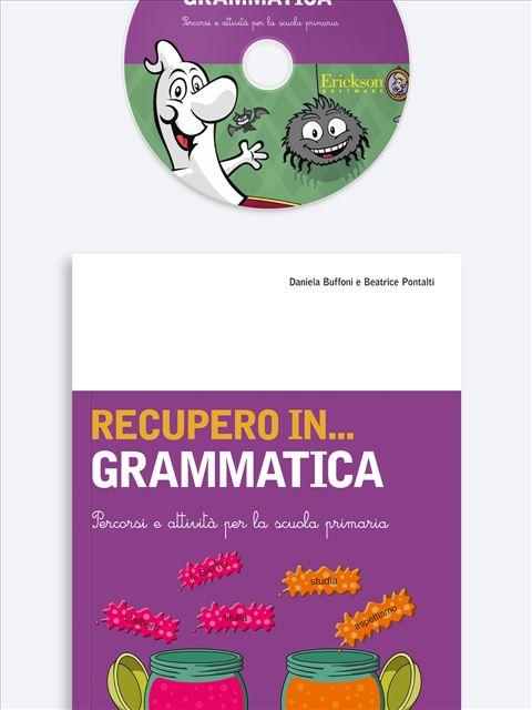 RECUPERO IN... Grammatica - Libri sulla Dislessia in bambini, ragazzi e adulti - Erickson 3