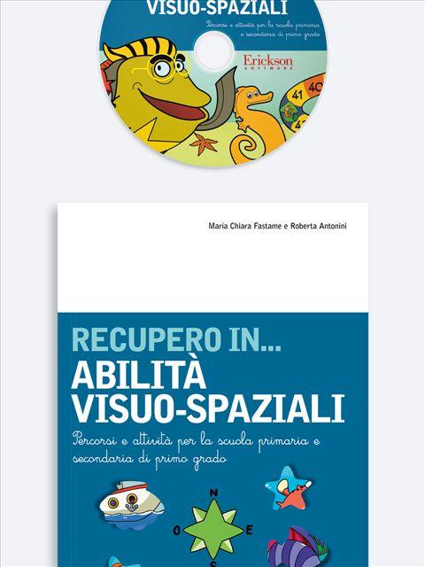 RECUPERO IN... Abilità visuo-spaziali - App e software per Scuola, Autismo, Dislessia e DSA - Erickson 3