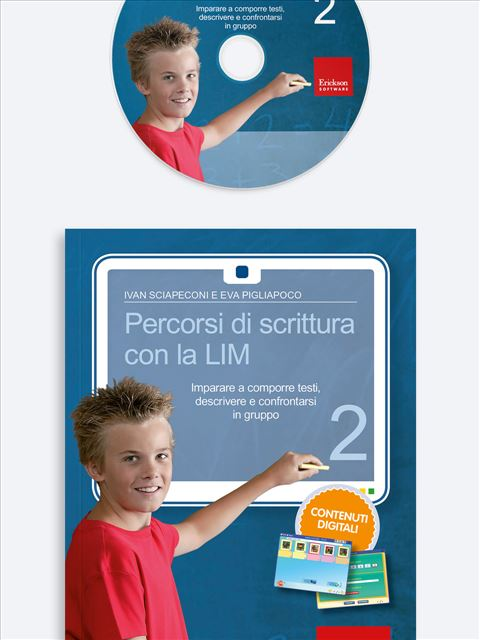 Percorsi di scrittura con la LIM 2 - apprendimento cooperativo - Erickson
