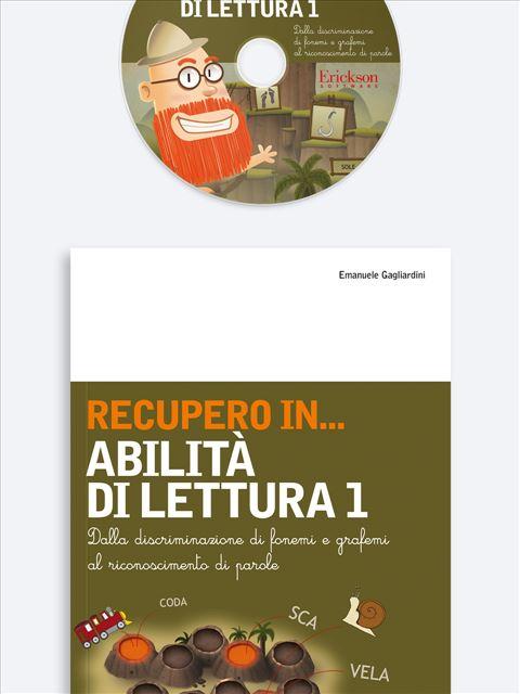 RECUPERO IN... Abilità di lettura 1 - Strategie di lettura metacognitiva - Libri - Erickson 3
