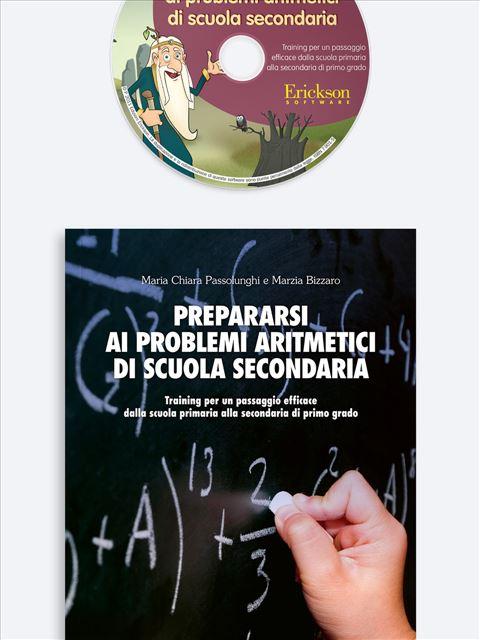 Prepararsi ai problemi aritmetici di scuola secondaria - App e software per Scuola, Autismo, Dislessia e DSA - Erickson 3