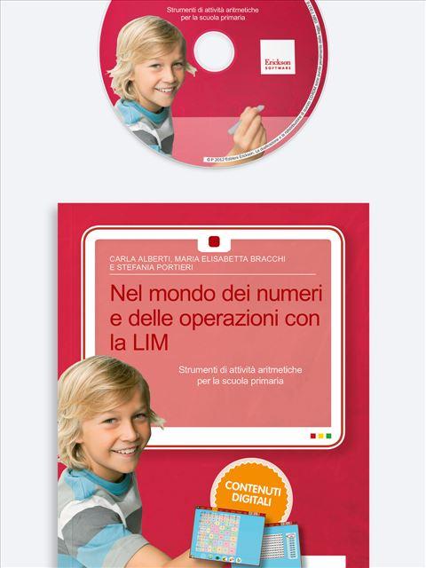 Nel mondo dei numeri e delle operazioni con la LIM - Lessico del numero - Erickson