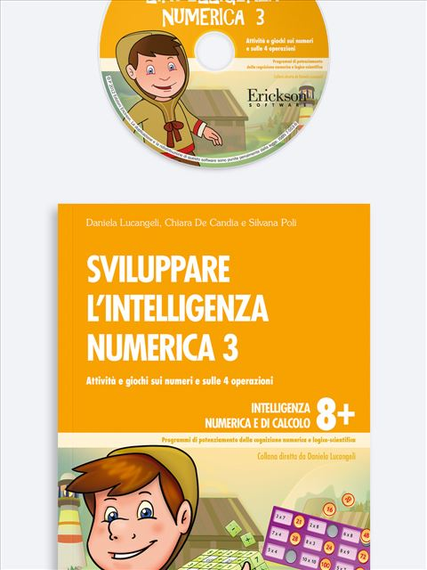 Sviluppare l'intelligenza numerica 3 - Procedure di calcolo orale - Erickson