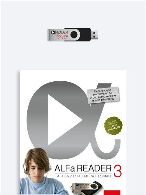 ALFa READER 3 - App e software per Scuola, Autismo, Dislessia e DSA - Erickson 2