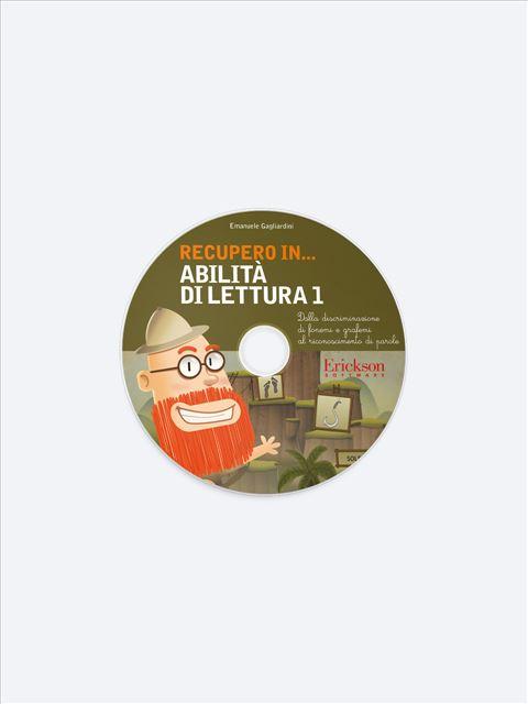 RECUPERO IN... Abilità di lettura 1 - App e software per Scuola, Autismo, Dislessia e DSA - Erickson 2