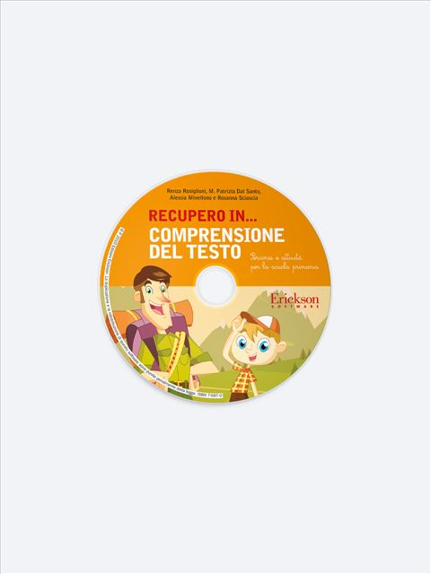RECUPERO IN... Comprensione del testo - Libri sulla Dislessia in bambini, ragazzi e adulti - Erickson 2