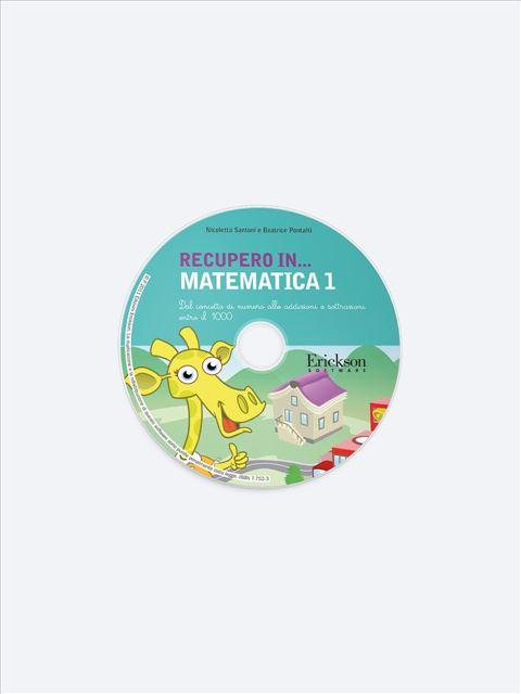 RECUPERO IN... Matematica 1 - App e software per Scuola, Autismo, Dislessia e DSA - Erickson 2